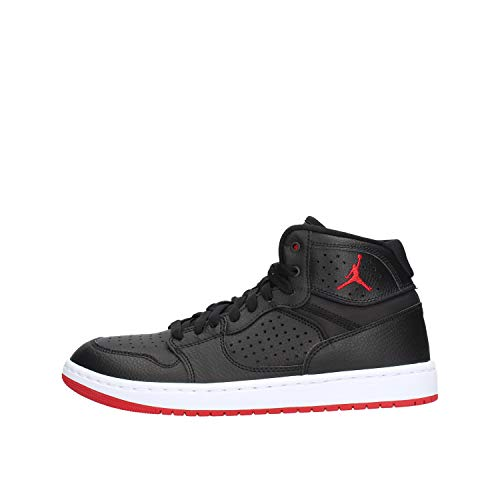 Nike Jordan Access, Zapatos de Baloncesto Hombre, Multicolor (Black/Gym Red/White 001), 41 EU