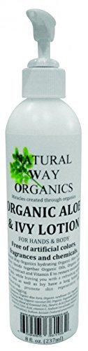 Natural Way Organics Organic Aloe & Ivy Lotion for Hands & Body - 8 oz [Misc.] by Natural Way Organics