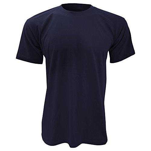 B&C Exact 150–Maglietta a maniche corte, da uomo Navy blue M