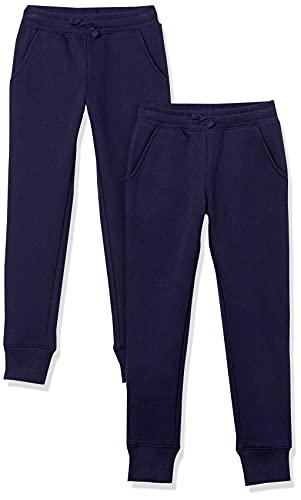 pantaloni tuta 4 anni Amazon Essentials Girls' Fleece Jogger Pantaloni della Tuta