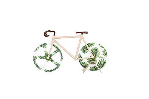 Doiy Fixie DYFIXIETR - Cortador de Pizza, diseño Tropical Antiguo