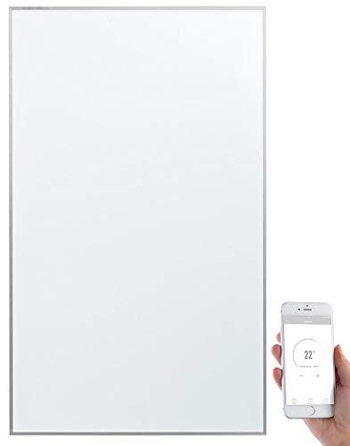 Sichler Haushaltsgeräte Infrarotwandheizung: IR-Wandheizung mit App, für Amazon Alexa & Google Assistant, 600 Watt (Infrarot Heizplatte)