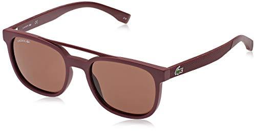 Lacoste L883S, Injected - Gafas de sol Matte Burgundy unisex adulto, multicolor, estándar