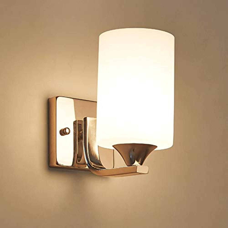 Moderne minimalistische LED-Wandleuchte aus Schmiedeglas