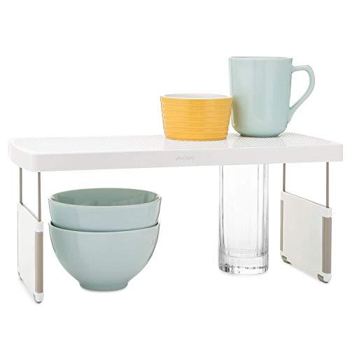 YouCopia StoreMore Riser Adjustable Kitchen Shelf Organizer, 17