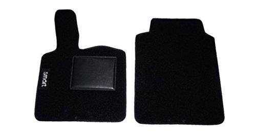carmats Tappeti Tappetini Auto su Misura per Smart for Two dal 98'al 2014 (compatiblità MOD. 450-451 Senza Fix