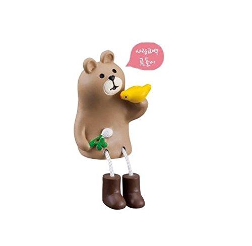 Decole 2016 Rabbit & Bear Figure - Love Bear
