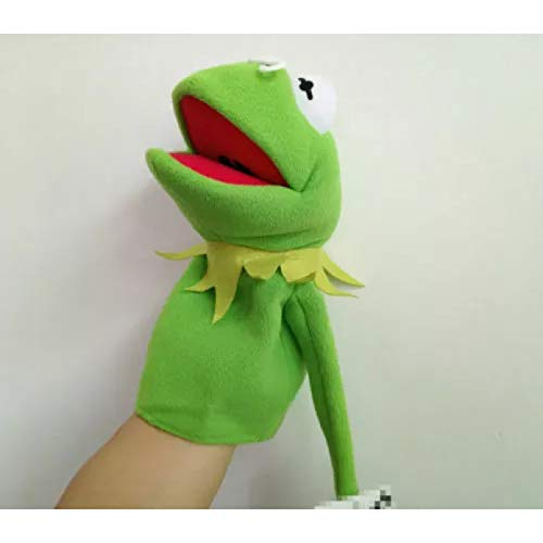 ZHQIC 30CM/11.8inch Muppet Disney Sesame Street Muppet Show Kemi Frog Peluche Bambola Regalo di Compleanno per Bambini