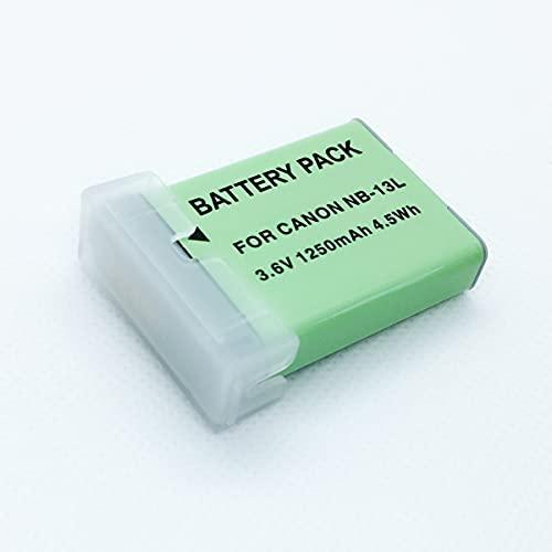 F-MINGNIAN-SPRING Paquete de 2 baterías de Repuesto para Canon para Accesorios de cámaras Digitales PowerShot SX620HS, SX720HS, SX730HS, G7XMii, G9XMii