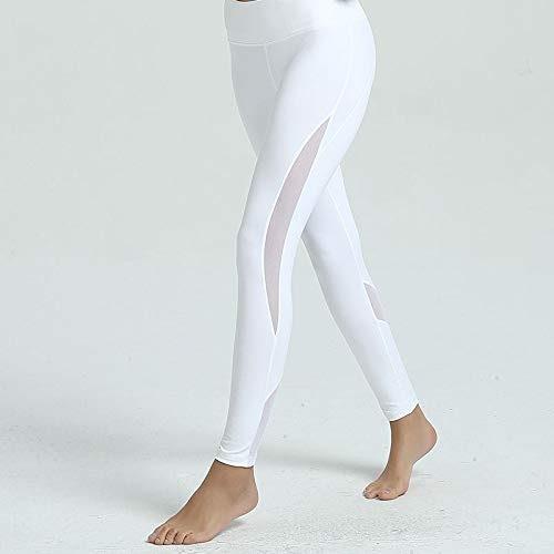Fdlzz Pantalon de Yoga pour Femmes Pantalon de Yoga accroupi, jambières de Yoga avec Poche cachée Collants de Sport