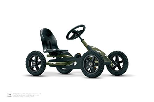 Bergtoys Jeep Junior Buddy Pedal-Gokart