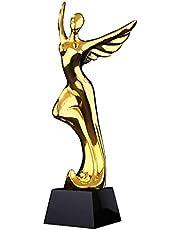 Trofee danswedstrijd met hars vergulde trofee prijs voor uitmuntende wedstrijdkampioen trofee voor belettering en zetwerk