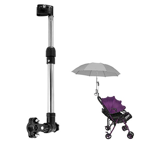 Yosoo Health Gear Retractable Umbrella Holder, Universal Umbrella Stand for Bike Bicycle Pram Baby Stroller Wheelchair Fishing Golf Trolley