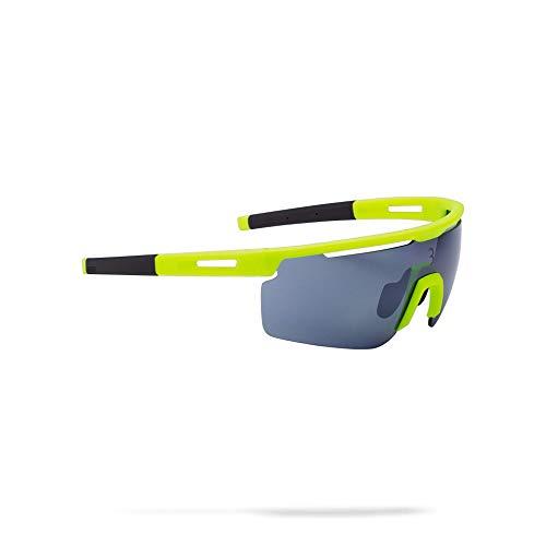 BBB Cycling Fahrrad, Mountainbike Sportbrillen Avenger Mit Wechselgläsern, BSG-57, Neon Yellow