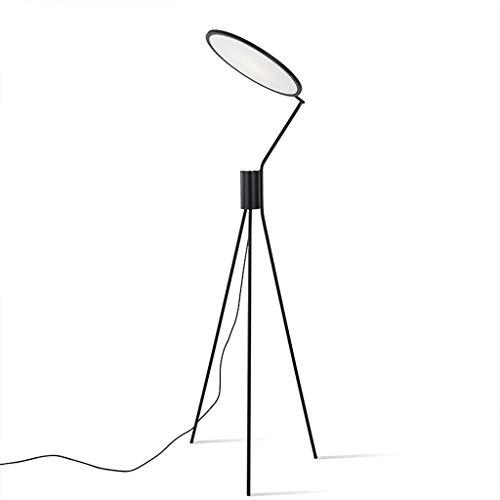 EIU Statief staande lamp Goosenhoek staande lamp voor woonkamer slaapkamer creatieve staande lamp, zwart 180cm W02/02