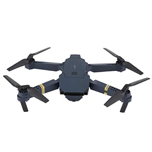 Quadcopter Drone Foldable Drone with HD Camera Live Video WiFi Transmission Drone Remote Control Plane for Beginners(200W Wide Angle)