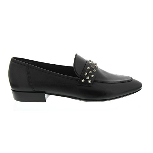 Donna Carolina Slipper, Vitello Nero Jil 33.300.171-003, Größe 39