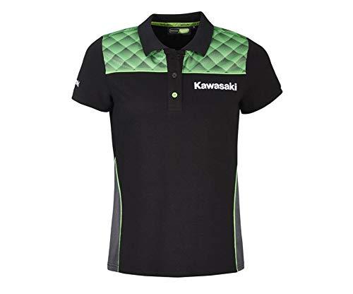 Kawasaki Sports Damen Poloshirt schwarz Größe M