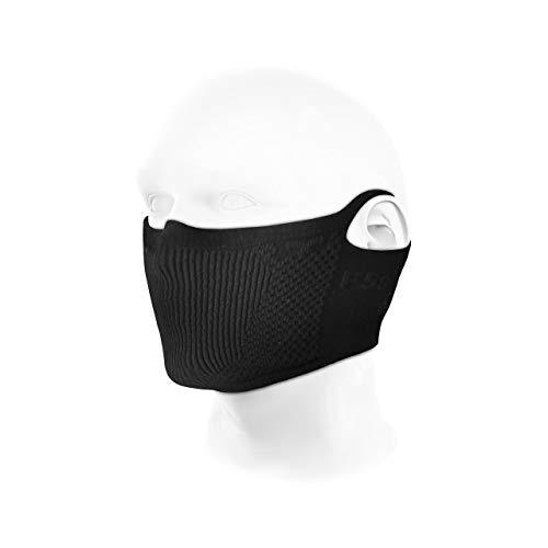 NAROO MASK F5s(ナルーマスク) 花粉対応スポーツ用フェイスマスク (ブラック)