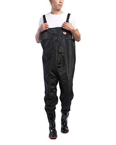 Pantalones Vadeadores De Pesca Honda Mono Botas Waders para Pesca De Lanzar Transpirables Unisexo 3 37