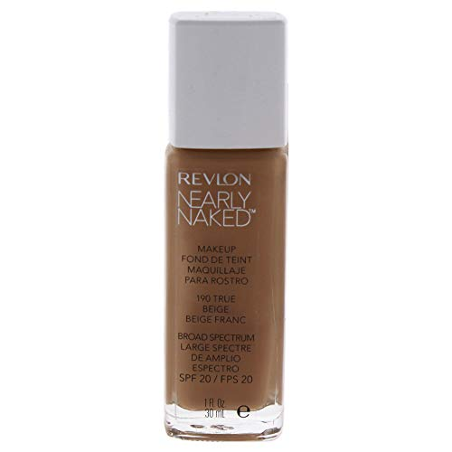 Revlon Nearly Naked Make-Up 190 True Beige