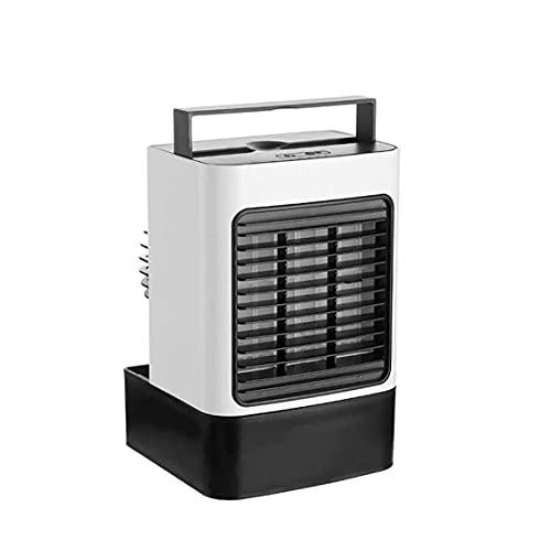 ZHOUJ Acondicionador de Aire portátil, refrigerador de Aire Mini humidificador sin Ruido, Utilizado en Dormitorio, habitación, Escritorio, Oficina, hogar