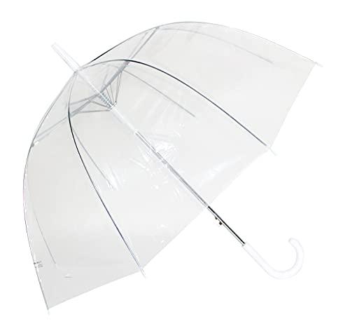 23' Dome Straight Auto Open Umbrella, 23', Fashion Umbrella, Compact...
