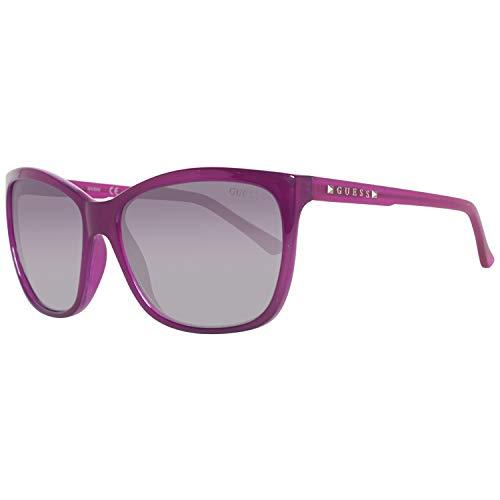 GUEX5 GU7308 6081B Sonnenbrille GU7308 6081B Groß Sonnenbrille 60, Violett