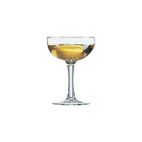 Arcoroc Elegance Champagner Tasse 160ml, ohne Füllstrich, 12Tassen