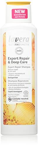 Lavera Shampoo Expert Repair and Deep Care, Expert Repair Shampoo, Hair Care, Natural Cosmetics, vegan, certified, 250ml