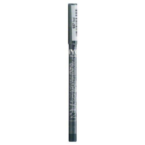 Nyc Eyeliner Pencil, Waterproof, Teal 937 0.036 Oz (1.08 G) (Pack of 2)