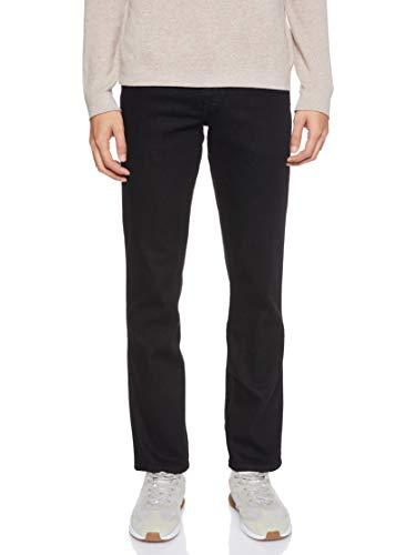 Wrangler Herren Texas Contrast' Jeans, Schwarz (Raven), 35W / 32L