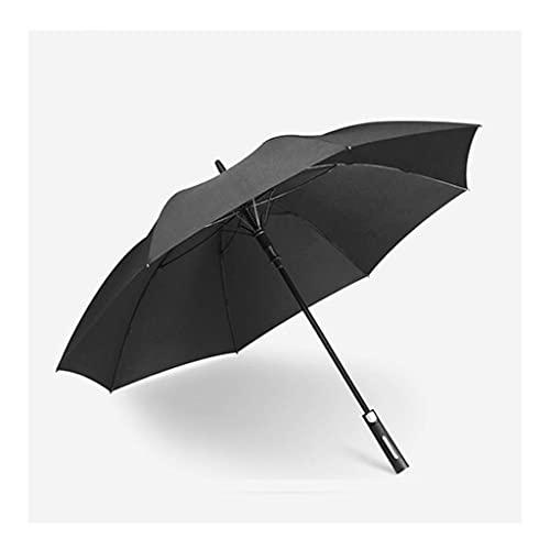 ZHENAO Paraguas Reforzado a Prueba de Viento Doble Golf Bing Bing Hombres de Gran Tamaño Paraguas Automáticas de Lluvia Y Lluvia Paraguas de Doble Uso Pintura de secado rápido/A
