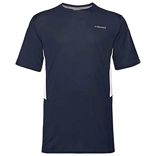 HEAD Club Tech T-Shirt M T_Shirts Homme Bleu FR : 3XL (Taille Fabricant : 3XL)