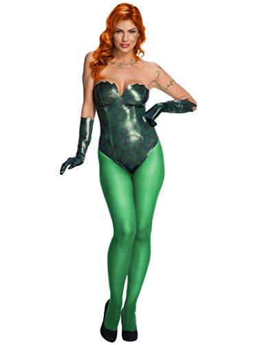 DC Comics Poison Ivy Women's Fancy Dress Costume Medium