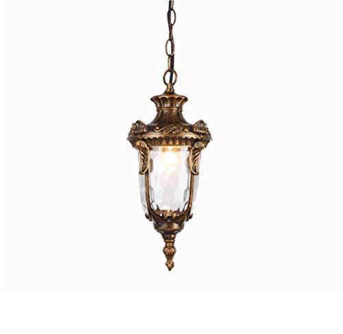 Hangende lantaarn voor buiten, industrieel, met lichte glazen hof, voor het frame van druiven van Gazebo