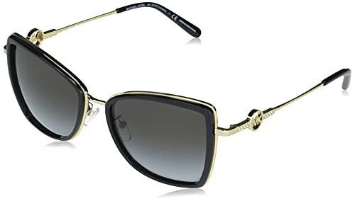 Michael Kors Damen 0mk1067b Sonnenbrille, Black/Grey Shaded, One Size
