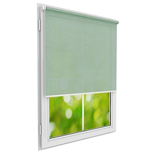 Konfigurieren Sie Ihre eigenen Rollos für Fenster & Türen I Das perfekte Rollo zum anpassen mit oder ohne Bohren I Verbessertes Design 2020 Deutsche Premium Qualität