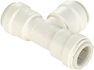 WATTS P-1040 Quick Connect Tee, 1 In, Cts, 250 Psi, Plastic