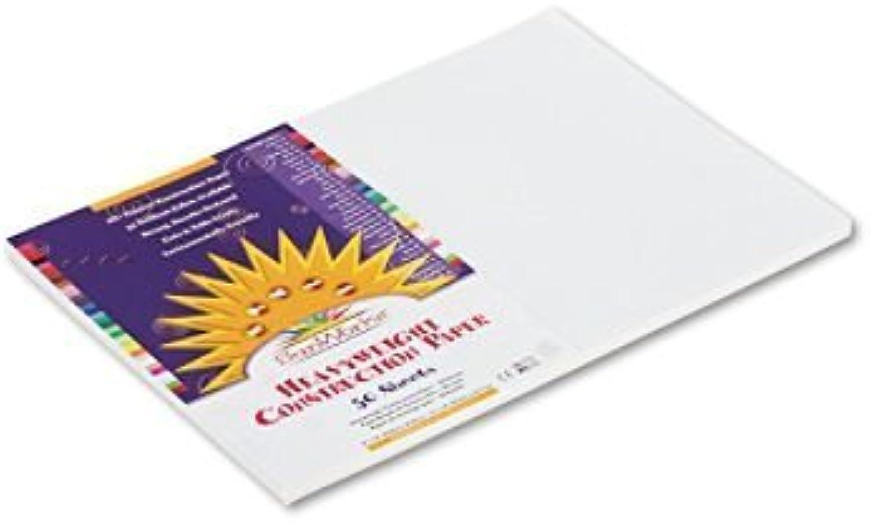 Sunworks Sunworks Sunworks Bau Papier, 30,5 x 45,7 cm weiß, 50 Blatt Sunworks B00NJ6C1Z4   New Products    Merkwürdige Form    Wir haben von unseren Kunden Lob erhalten.  4948f7