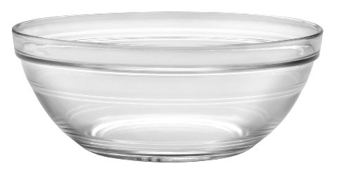 Duralex - Lys Stackable Clear Bowl 20 cm (7 7/8 in) Set Of 6