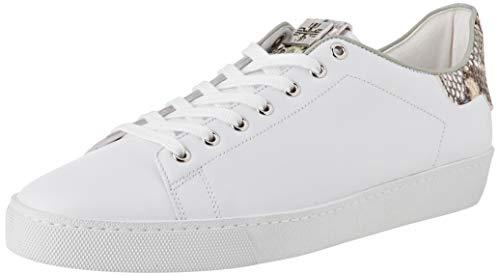 Högl GLAMMY Sneaker, Mehrfarbig (Weiss/Salvia 0251), 34.5 EU