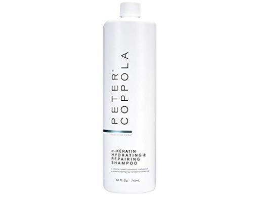 Peter Coppola a-Keratin Hydrating & Repairing Shampoo 24 oz. - Repairs...