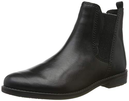 MARCO TOZZI Damen 2-2-25366-33 Chelsea Boots, Schwarz (Black Antic 002), 38 EU
