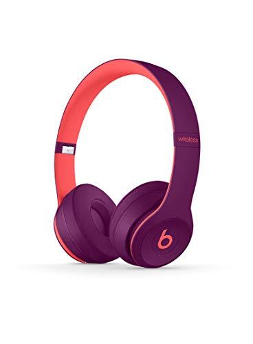 Casque supra-auriculaire BeatsSolo3 sans fil- Puce AppleW1 pour casques et écouteurs, Bluetooth classe1, 40heures d'écoute- Mauve Pop