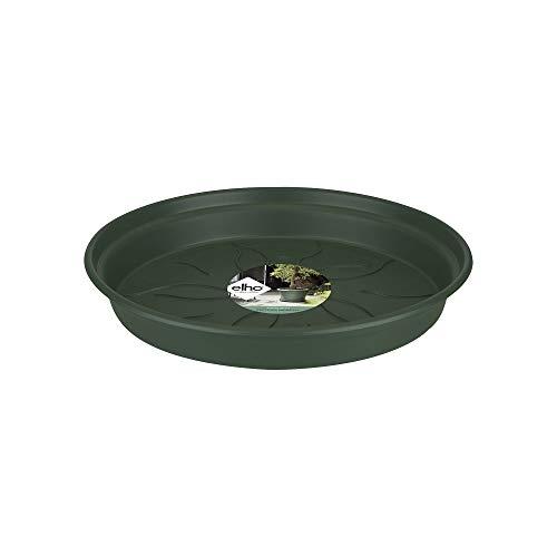 Elho Green Basics Soucoupe 34 - Leaf Green - Intérieur & Extérieur - Ø 34 x H 4.9 cm