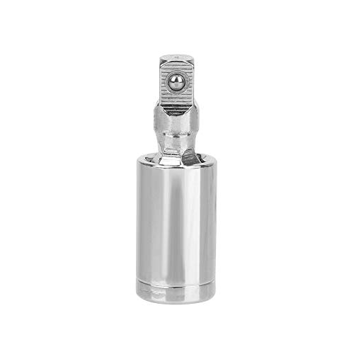 CuiGuoPing Ratschenschlüssel Sockeladapter, Verlängerungsstange, 360-Grad-Drehkopf, Chrom-Vanadium-Stahl, 1/4