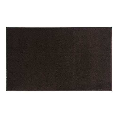 AmazonBasics Cut-Pile Polypropylene Commercial Carpet Vinyl-Backed Mat 3x4 Smoke