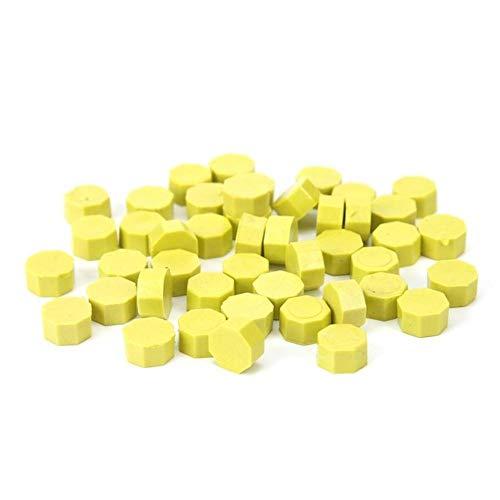 100 pcs Vintage Cire D'étanchéité Timbre Tablette Pilule Perles Enveloppe Enveloppe De Mariage Cire Sceau Cuillère Avec Timbre En Bois Poignée Décorative Artisanat Cadeaux, comme image, Espagne