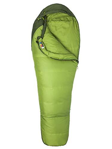 Marmot Unisex-Adult Trestles 30 Mumienschlafsack, Leichter und Warmer 3 Jahreszeiten Kunstfaser Schlafsack, ideal zum Camping und Trekking, Green Lichen/Greenland, Normal: 183 cm